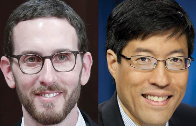 State Senators Scott Wiener, left, and Richard Pan have teamed up on an STD bill. Photos: Courtesy senators' offices