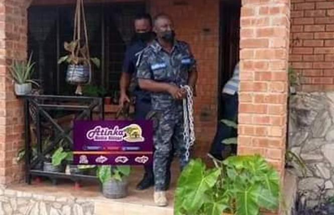 Police raided Ghana's unmarked LGBTQ center following complaints from the community February 24. Photo: Courtesy Abdul-Wadud Mohammad/LGBT+ Rights Ghana