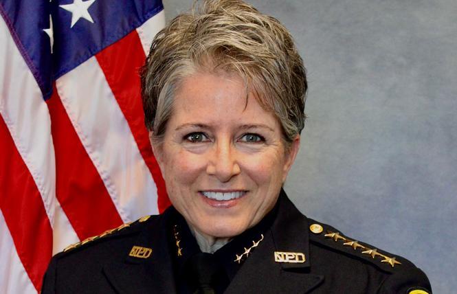 Interim Napa Police Chief Sylvia Moir. Photo: Courtesy NPD