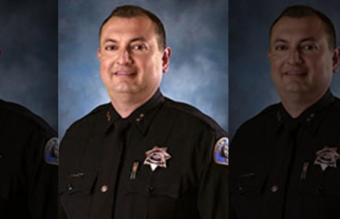 New San Jose Police Chief Anthony Mata. Photo: Screengrab