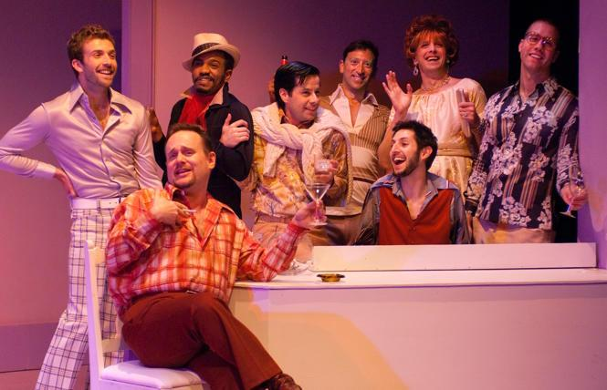 New Conservatory Theatre Center's fab production of 'Some Men' in 2009.
