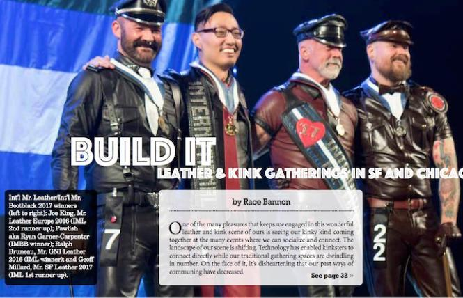 Race Bannon's 2017 IML coverage in the Bay Area Reporter