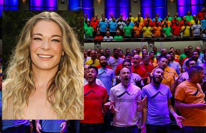 LeeAnn Rimes guest-stars in the SFGMC' 'Crescendo'
