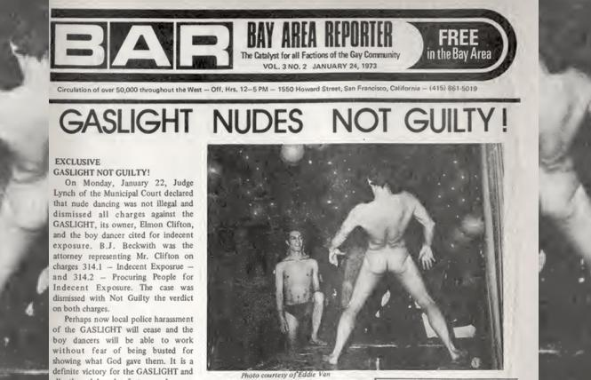 Janury 24, 1973: nudes not guilty!