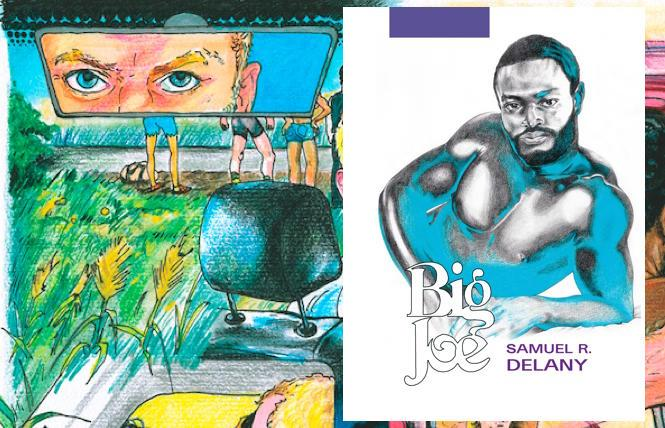 interior and cover art for Samuel R. Delaney's 'Big Joe'