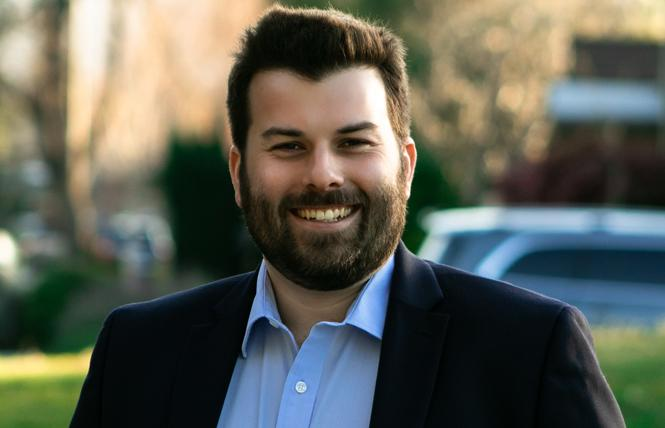 San Jose City Council candidate Justin Lardinois. Photo: Ali Sapirman