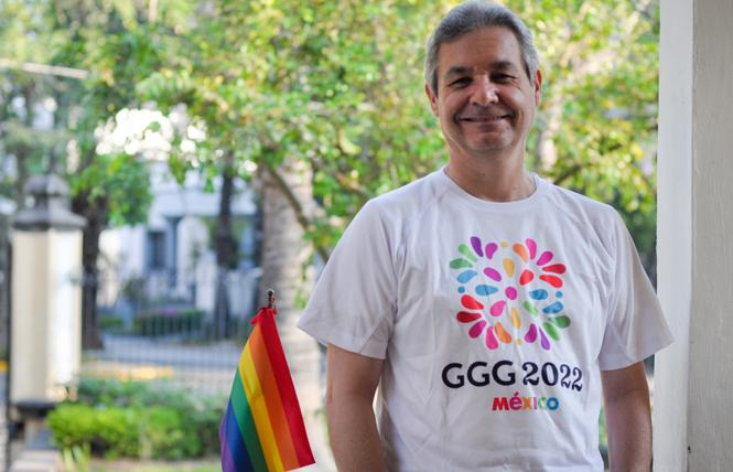 Gustavo Staufert, director of the Guadalajara Tourism Board, advocates that the city should be chosen for Gay Games XII in 2026. Photo: Courtesy Guadalajara Tourism Board