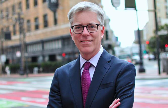 Kevin Rogers has been named interim CEO of the San Francisco AIDS Foundation. Photo: Courtesy SFAF