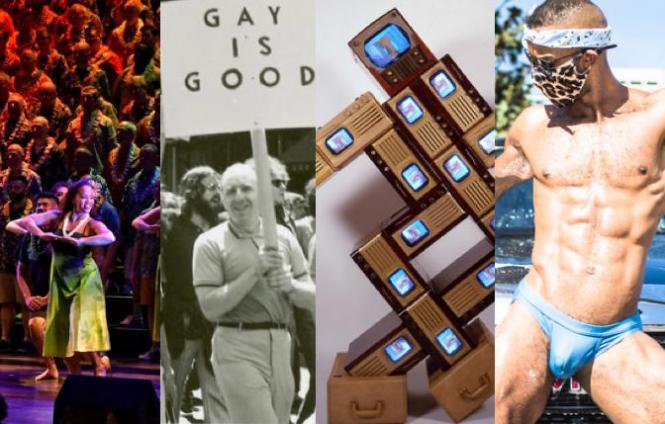 SF Gay Mens Chorus AAPI celebrations; Victory Institute's 'Pride & Progress'; 'Nam June Paik' at SF MOMA; Suds & Studs at Oasis
