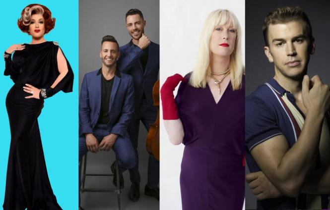 Katya Smirnoff-Skyy, Branden & James, Justin Vivian Bond and Spencer Day are among the upcoming acts at the reopened Feinstein's at The Nikko.