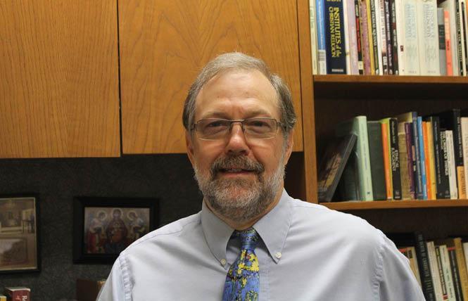 Shawnee State philosophy professor Nicholas Meriwether. Photo: Courtesy Alliance Defending Freedom