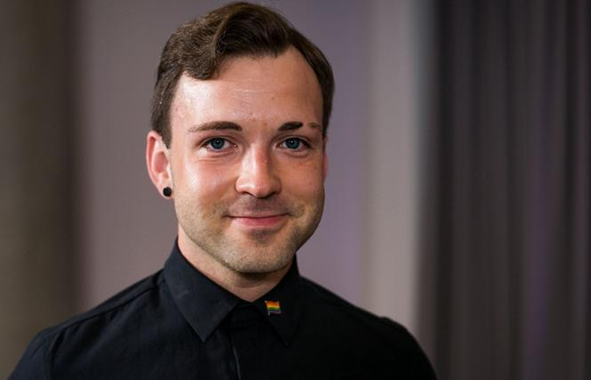 Tomas Vytautas Raskevicius, Lithuania's only openly gay Member of Parliament, is pushing a civil partnership bill. Photo: Courtesy of Delfi/Tomas Vinickas