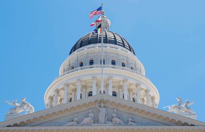 A bevy of LGBTQ legislation is advancing in the California Legislature. Photo: Courtesy Twitter