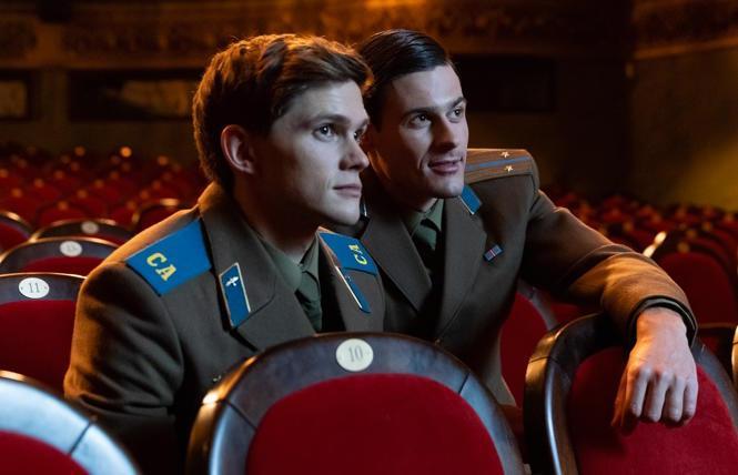 Tom Prior and Oleg Zagorodnii in 'Firebird'