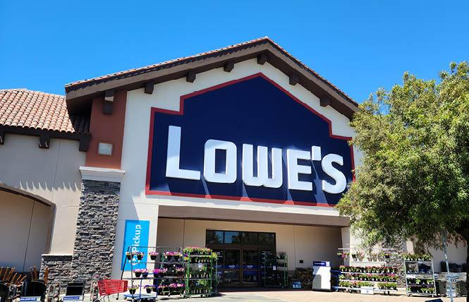 Lowe's Home Centers has been sued by a former employee for alleged sexual harassment. Photo: Cynthia Laird