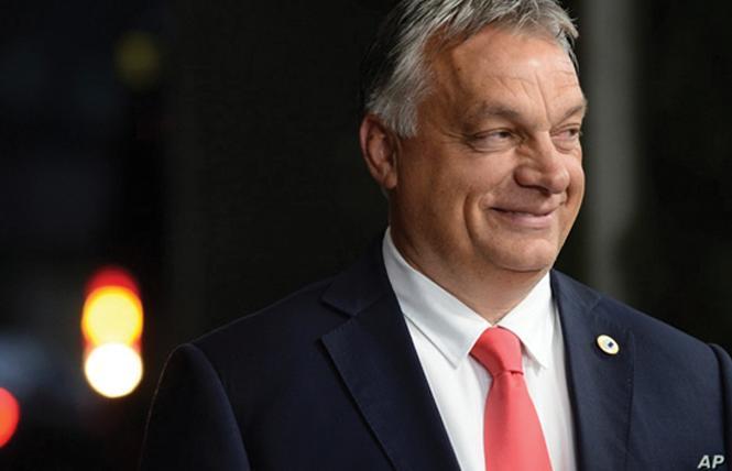 Hungarian Prime Minister Viktor Orban. Photo: Courtesy AP