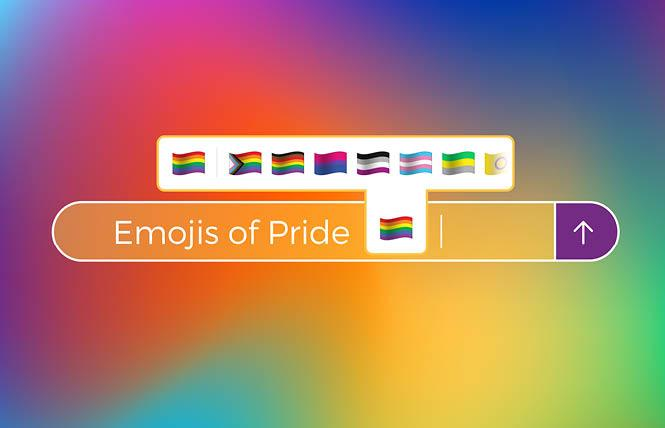 The Gilbert Baker Foundation and advertising firm Ogilvy have embarked on a campaign to add emoji for different Pride flags. Photo: Courtesy Gilbert Baker Foundation