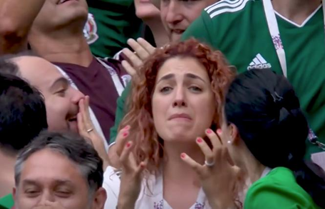 A clip from the Mexico Soccer Federation's public service announcement warns against fans uttering the anti-gay chant. Photo: Courtesy Yahoo Sports