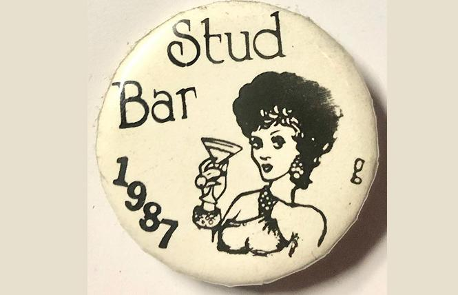 One of the many pins from the Stud Archive celebrates 1987. Photo: Courtesy HSAC