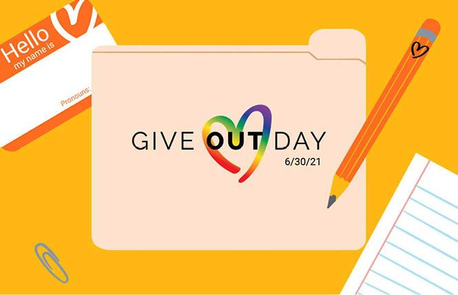 Give OUT Day ends June 30 and numerous LGBTQ nonprofits are participating. Photo: Courtesy Horizons Foundation