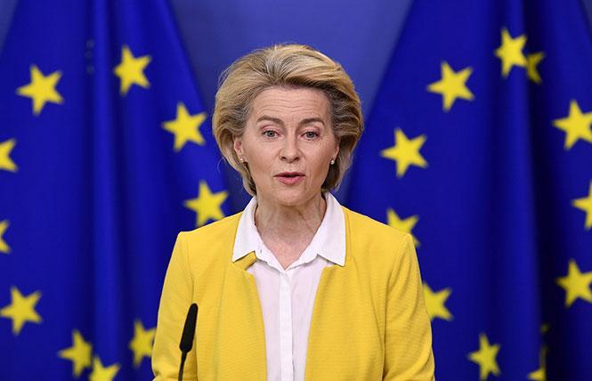 European Commission Chief Ursula von der Leyen. Photo: Courtesy AP