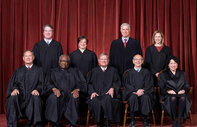 The U.S. Supreme Court ruled July 1 that California's law requiring donor disclosures violates the First Amendment. Photo: Courtesy U.S. Supreme Court