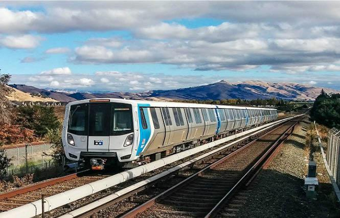 BART is adding limited late-night trains beginning July 15 and will have special trains leaving the Embarcadero station after the July 4 fireworks in San Francisco. Photo: Courtesy BART