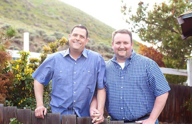 The U.S. Supreme Court has declined to hear an appeal of a florist who refused service to Robert Ingersoll, left, and Curt Freed because they are gay. Photo: Courtesy ACLU
