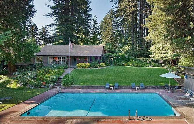 The Highlands Resort in Guerneville has new owners and has rescinded its clothing optional pool policy. Photo: Courtesy CABeaches