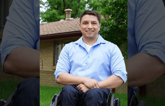 David Ortiz was elected in 2020 as Colorado's first openly bi state legislator. Photo: Courtesy LGBTQ Victory Fund