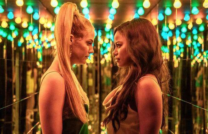 Riley Keough and Taylour Paige in 'Zola'