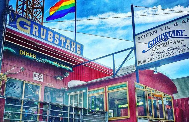 A proposal to build housing and renovate Grubstake Diner won approval from the San Francisco Planning Commission July 22. Photo: Courtesy Facebook