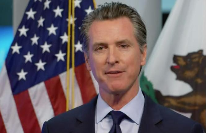 Governor Gavin Newsom signed two HIV-related bills July 23. Photo: Facebook