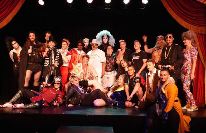 'Game of Bones,' the 24th SF Drag King Contest at Oasis in 2019.