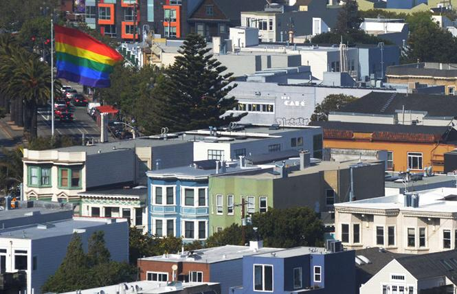 A new survey of LGBTQ older adults in San Francisco found that many were affected during the COVID pandemic, from being lonely to not being able to access services. Photo: Rick Gerharter
