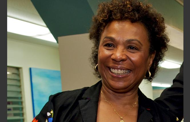 Congresswoman Barbara Lee was the only member to vote against going to war in Afghanistan nearly 20 years ago. Photo: Jane Philomen Cleland