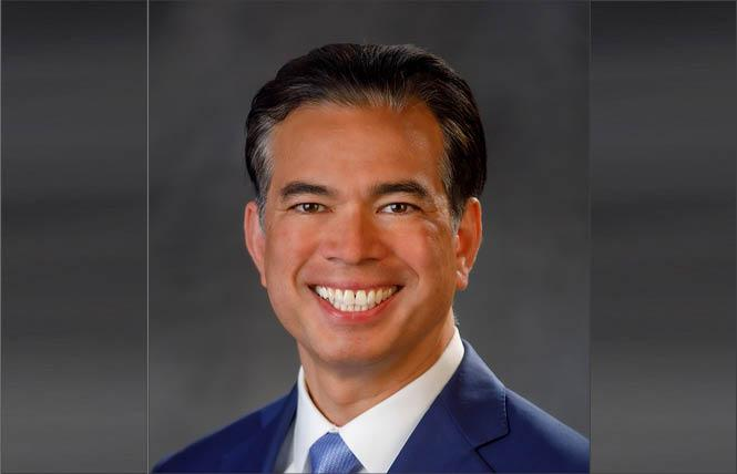 California Attorney General Rob Bonta joined an amicus brief supporting three transgender Alabama residents who have been denied driver's licenses because of their gender identity. Photo: Courtesy CA AG's Office