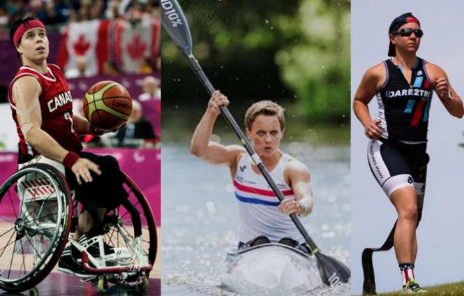 Cindy Ouelett (Canada, Basketball), Emma Wiggs (GB, Canoe), and Hailey Danz (Triathlon, USA) will compete in this year's Tokyo Paralympic Games.