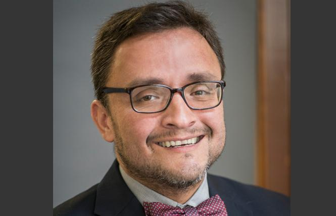 David Campos is exploring a run for state Assembly, should the 17th District seat become vacant. Photo: Courtesy SF DA's Office