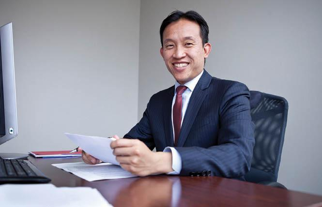 Assemblyman David Chiu's AB 245 would allow transgender and nonbinary students to have their lived names used on public college and university documents, including diplomas. Photo: Courtesy Assemblyman Chiu's office