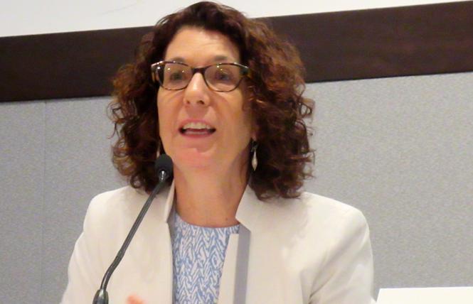 Dr. Susan Buchbinder. Photo: Liz Highleyman