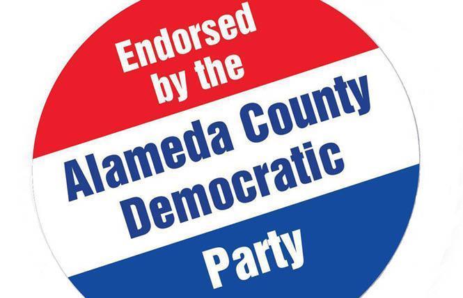 Alameda Dems adopt pro-LGBTQ endorsement policy