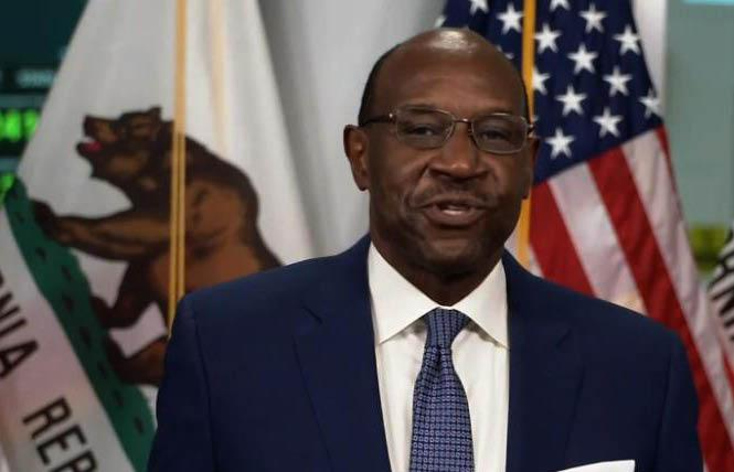 California Supreme Court Associate Justice Martin Jenkins was nominated October 5, 2020, and was sworn in December 4, 2020. Photo: Courtesy YouTube