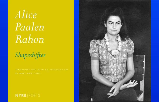 author Alice Paalen Rahon with a necklace by Pablo Picasso