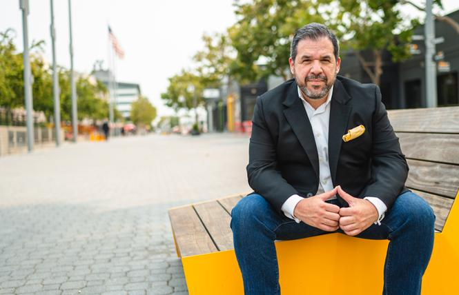 Peter Gamez is the new president and CEO of Visit Oakland. Photo: Courtesy Visit Oakland