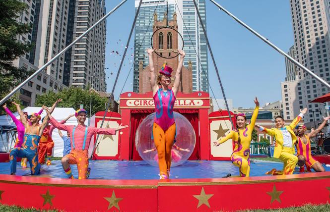 Circus Bella at Yerba Buena Gardens