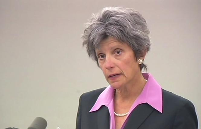 Sonoma County District Attorney Jill Ravitch defeated a recall Tuesday. Photo: Courtesy ABC7