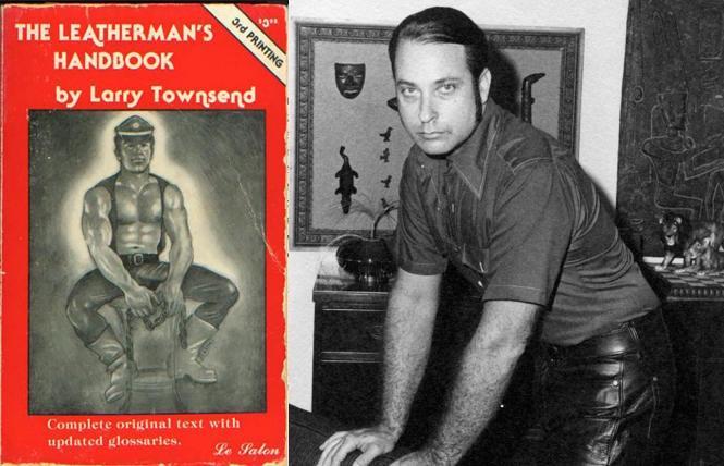 'The Leatherman's Handbook' 3rd printing; Larry Townsend in 1965. photo: Fred Yerkes