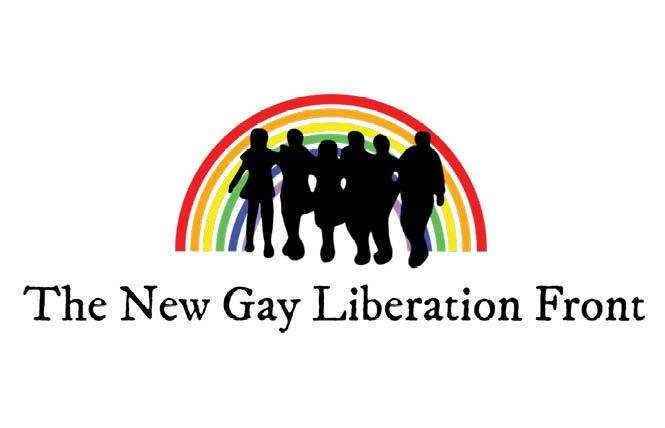 The New Gay Liberation Front group held a launch event September 19 and is being criticized for its stance on trans rights. Photo: Courtesy NGLF