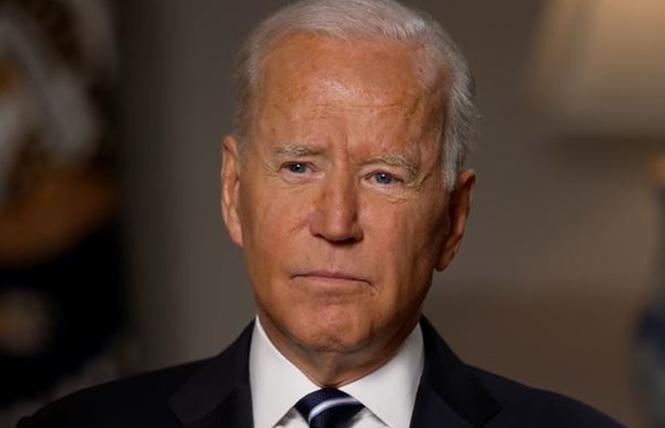 President Joe Biden and his administration need to step up efforts to help queer Afghans resettle in the U.S. or allied countries. Photo: Courtesy ABC News